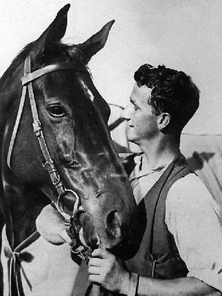 Tommy Woodcock a Phar Lap (1932)