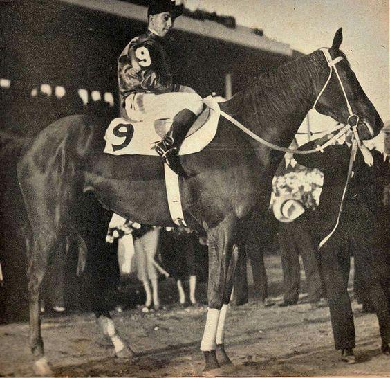 Phar Lap po vítězství v Aqua Caliente 1932